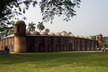 sixty dome mosque (ষাট গম্বুজ মসজিদ)