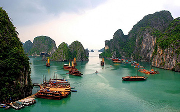 Ha Long Bay, Vietnam (হালং বে, ভিয়েতনাম)