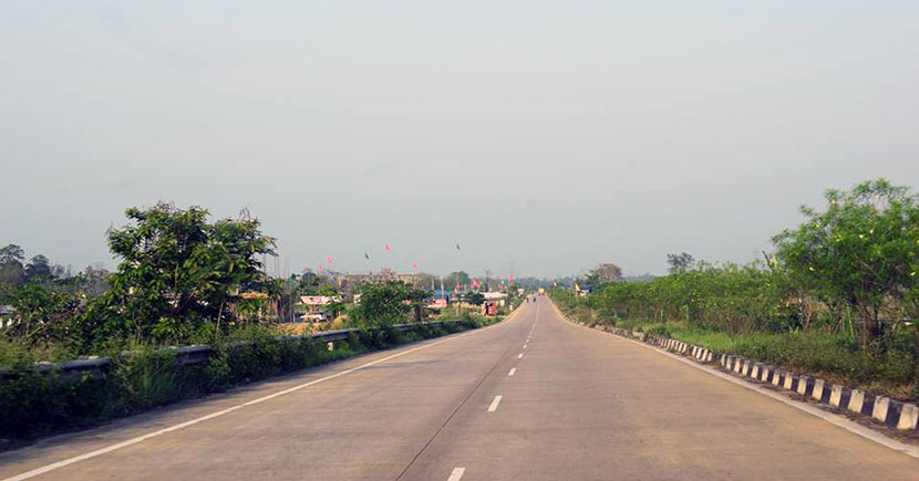 Way to Tezpur