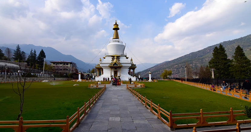 National memorial chorten. Thimpu